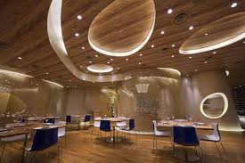 Shape In Interior Design Unconventional Shapes In Marine Themed Restaurant Interior Design