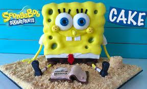 spongebob squarepants cake spongebob out of water cake how to cook that reardon