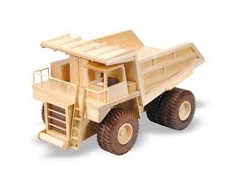 wooden truck toy the mining truck 18inch woodworking plan