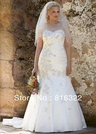 plus size fit and flare wedding dress 1975poster jpg