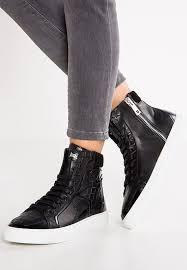 schuhe designer designer outlet just cavalli sneaker high black schuhe damen