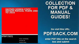 100 pdf free civic repair manual 100 lift truck service