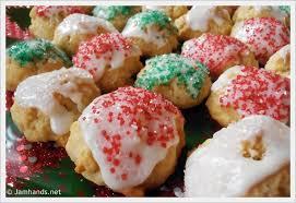 jam hands italian anise cookies