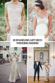 deco wedding dress 28 sparkling deco wedding dresses weddingomania