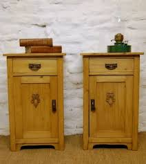 victorian style side table victorian pair of pine bedside cabinets side tables 100488 www