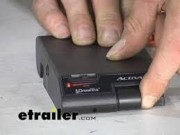 draw tite activator trailer brake controller review etrailer com