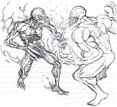 carnage vs venom by micoolgoinx on deviantart