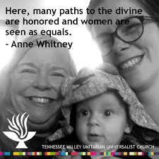 Anne Meme - anne whitney meme tennessee valley unitarian universalist church