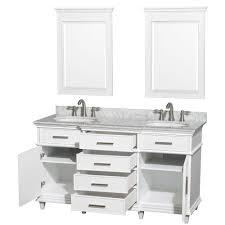 60 bathroom vanity double sink white bathroom decoration