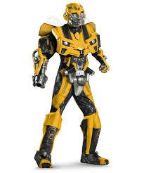 transformers bumblebee 3d movie halloween costume