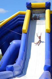 kids in adelaide play trippo victor harbor water slide