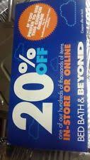 Online Coupon Bed Bath And Beyond Bed Bath U0026 Beyond Coupons Ebay