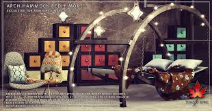 arch hammock bed u0026 more for fameshed march trompe loeil