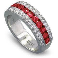 ruby diamond ring ruby diamond ring ruby diamond band diamond ruby wedding band