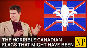 Canadian Flag History Facts The Horrible Canadian Flags That Might Have Been Youtube