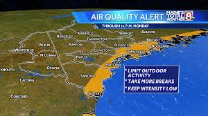 Portland Air Quality Map by Heat Sticks Around Air Quality Alert Issued Through Monday