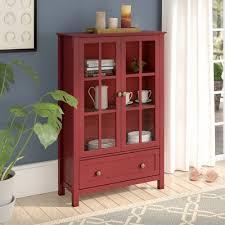 Rojo Tall Cabinet Three Posts Valerie Tall Accent Cabinet U0026 Reviews Wayfair