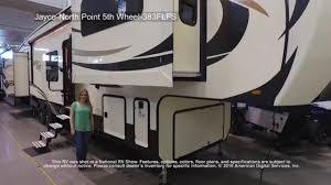 jayco north point 5th wheel 383flfs youtube