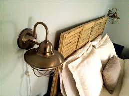 Wall Lamps With Cord For Bedroom 10 Marvelous Plug In Wall Lamp U2013 Plug In Wall Sconce With Cord