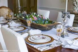 Dining Table Settings Pictures Setting A Dining Table To Reflect Your Country Style