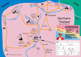 Map Of Laos Thailand And Laos Journey 22 North Thailand And Laos