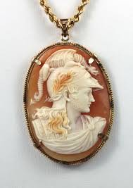 cameo antique necklace images Antique fine cameo pendant necklace depicting ares god of war 14k jpg