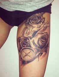 20 thigh tattoo designs for every woman tattoo tatting and piercing