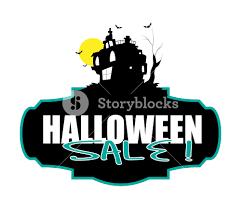 Halloween Sale Spooky Halloween Sale Banner Royalty Free Stock Image Storyblocks