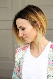 gambar tutorial ombre rambut 25 model gaya rambut ombre wanita keren terbaru masa kini