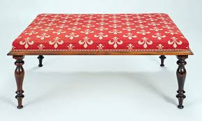 antique regency rosewood bench with turned legs