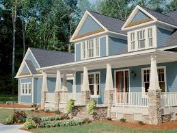 Landscaping Ideas For Front Of House by Curb Appeal Tips For Craftsman Style Homes Hgtv