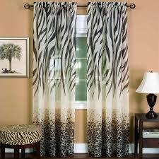 Zebra Valance Curtains Curtain Lovely Trend Lab Window Valance Blackwhite Zebra Print New