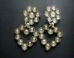 1970s earrings zoe coste etsy