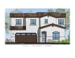 Spanish House Floor Plans New California Homes Templeton Templeton Ranch