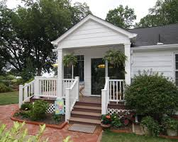 classic home design tropical porch off the sunroom door or