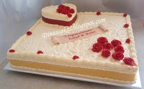 heart wedding cake dina s cakes roses 24 square heart wedding cake
