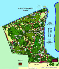 Map Of Ocala Fl Labelle Nature Park Florida Hikes
