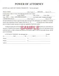 Oregon Durable Power Of Attorney Form by 9 Power Of Attorney Form For Car Action Plan Template