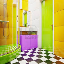 24 colorful ideas for small endearing colorful bathroom designs