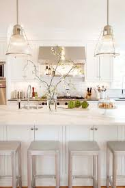 All White Kitchens by The White And Bright Kitchen The Chriselle Factor
