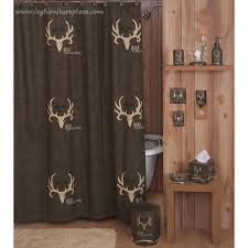 Rustic Shower Curtains Bone Collector Shower Curtain Rustic Shower Curtain