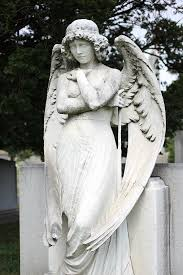 cemetery statues the only living girl in new york