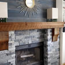 Floating Fireplace Mantels by Decor U0026 Tips Tv Over Fireplace And Stone Fireplace Mantels With
