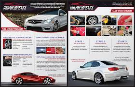 auto detailing flyer template form of promissory note