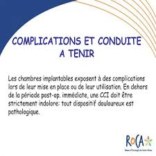 chambre implantable complications le plus brillant chambre implantable complications en ce qui