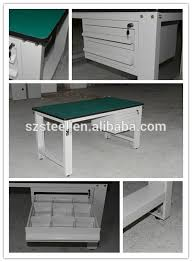 customized warehouse garage industrial work table steel work bench