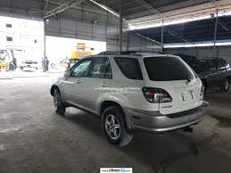 lexus rx300 pictures lexus rx300 2003 pearl white no hit 100 in phnom penh on khmer24 com