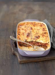 recettes de cuisine facile et rapide recette moussaka d aubergines