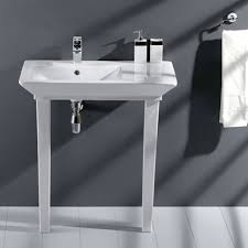 Bathroom Console Vanity Console Sinks For Small Bathrooms Meedee Designs