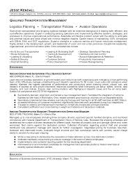 collection of solutions senior logistic management resume on